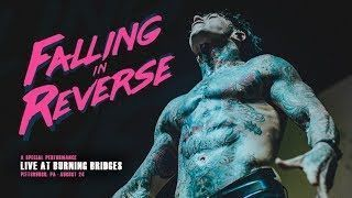 Falling In Reverse - Live at Burning Bridges from Pittsburgh, PA