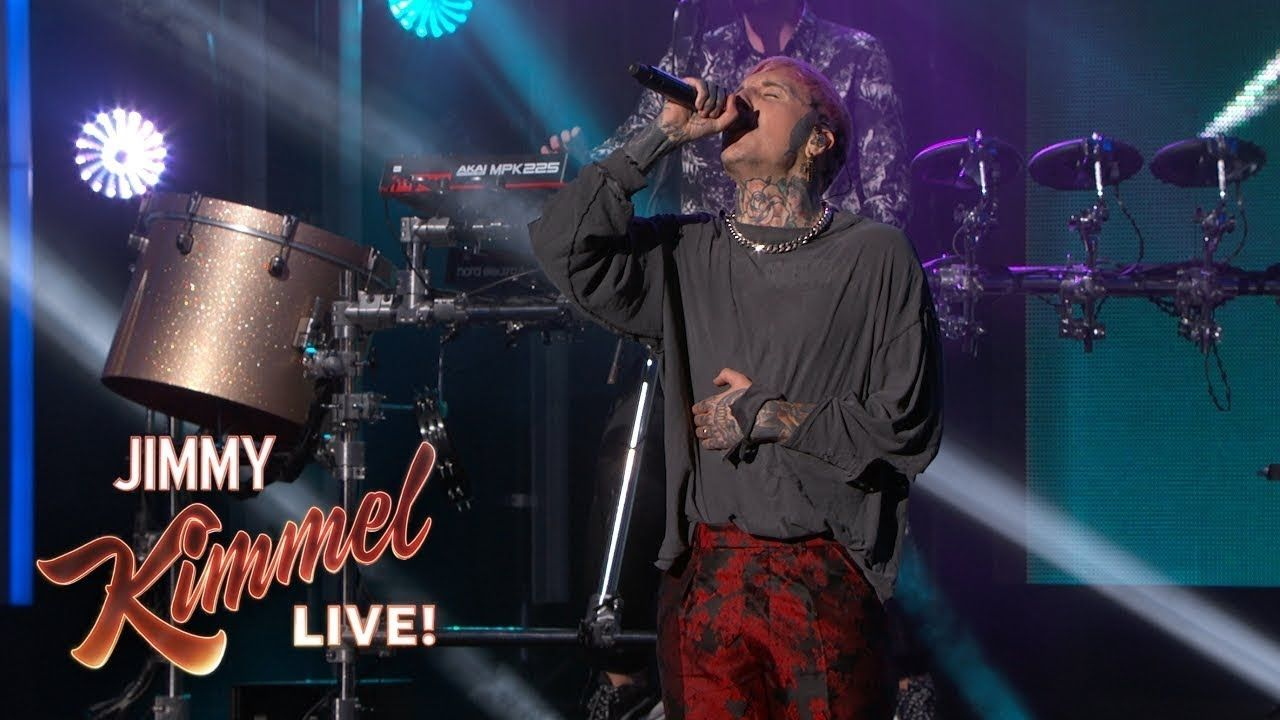 Bring Me The Horizon - Medicine (Live at Jimmy Kimmel)