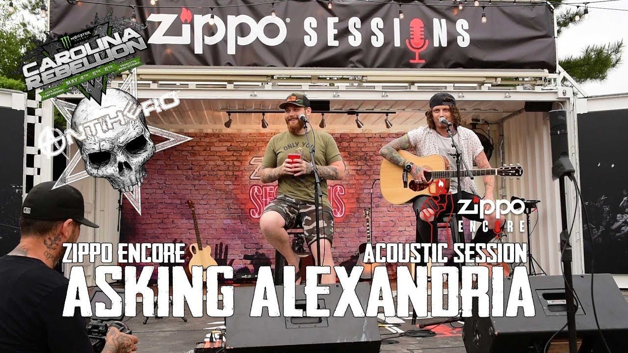 Asking Alexandria - Zippo Encore Acoustic (Carolina Rebellion 2018)