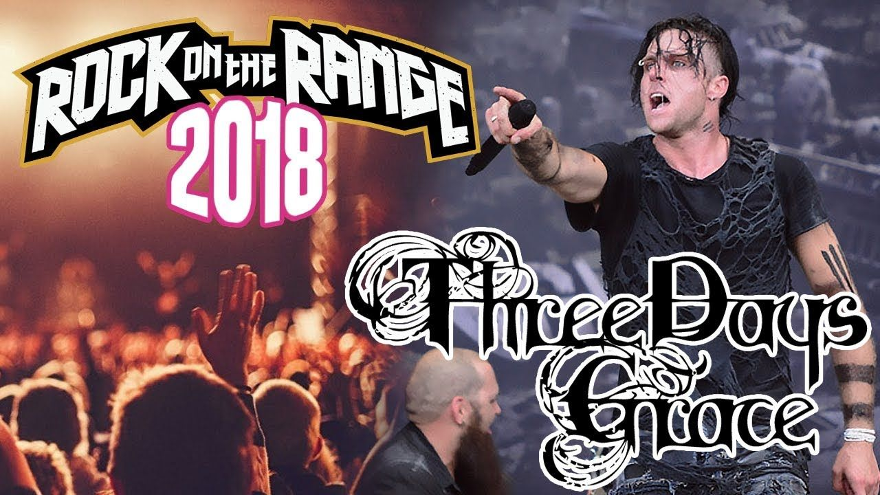 Three Days Grace - Live At Rock on the Range 2018 (Full Concert)