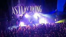 As I Lay Dying - live set Oriental Theater 2018