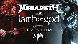 In Flames, Trivium, Lamb of God, Megadeth - Metal Stream of the Year 2020