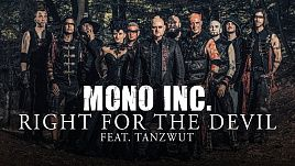 Mono Inc feat Tanzwut - Right For The Devil (Official)