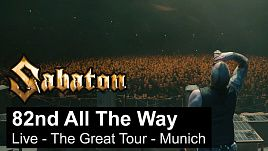 Sabaton - 82nd All The Way (Live at Germany 2020)