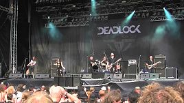 Deadlock - The Brave/Agony Applause live @Metaldays 2015