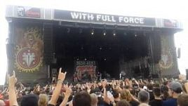 Walls Of Jericho, Live With Full Force 2014