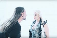 Hammerfall ft. Noora Louhimo - Second To One (Official)
