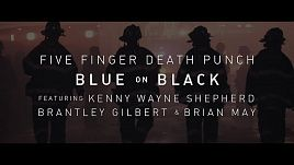 Five Finger Death Punch - Blue On Black (feat. Kenny Wayne Shepherd, Brantley Gilbert & Brian May)